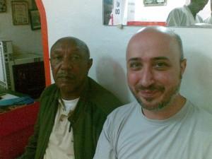 Avec Maitre M'Barek Alaoui, 8e dan au Syudokan de Casablanca dans mes dojos 07062008005-300x225