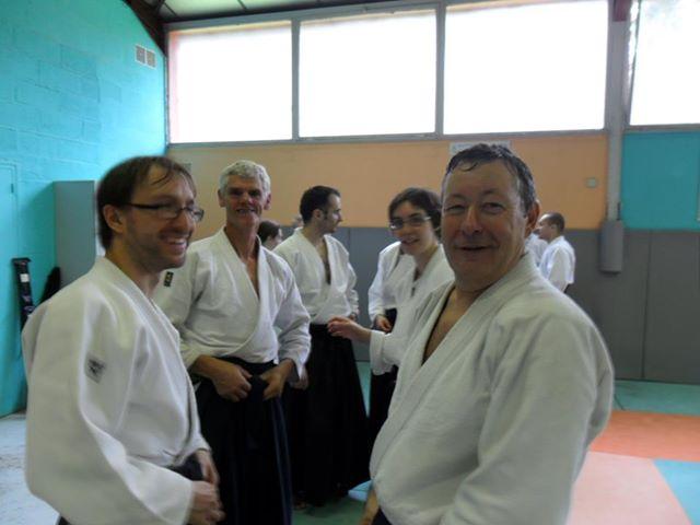 Albert, Mon professeur d'aïkido. dans mes dojos 295992_107290616048195_1806410586_n