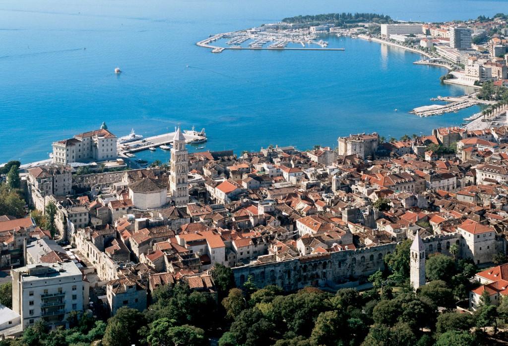 Split en Croatie - Cathédrale - Vieille ville